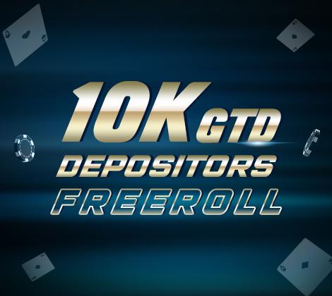 25K Depositors FreeRoll