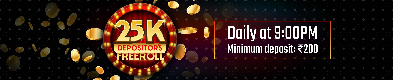 Pokerstars depositors freeroll