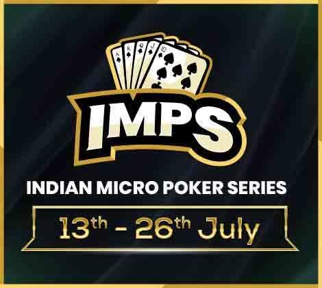 Indias Micro Stakes Poker Series